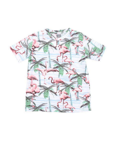 Arcade Styles - Flamingo Knit Tee (8-18)