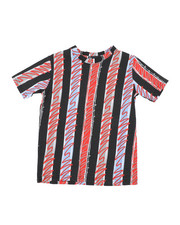 Arcade Styles - Stripes Knit Tee (8-18)-2457676