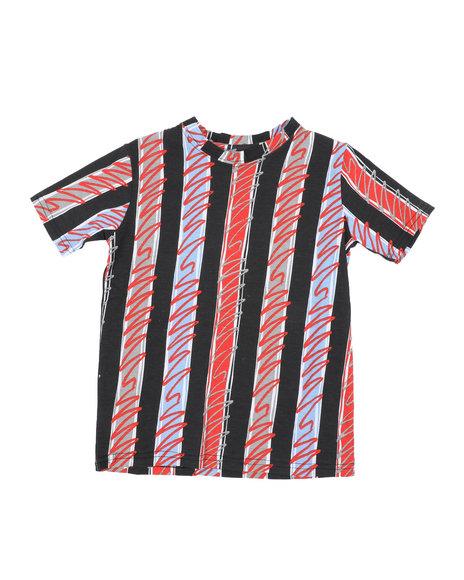 Arcade Styles - Stripes Knit Tee (8-18)