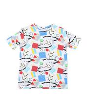 Arcade Styles - Geometrics Knit Tee (8-18)-2457651