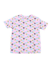 Arcade Styles - Geometrics Knit Tee (8-18)-2457671