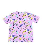 Arcade Styles - Geometrics Knit Tee (8-18)-2457656
