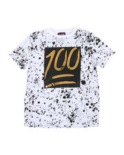 Sizes 8-20 - Big Kids - 100 Mirror Foil Patch Tee (8-18)-2457856