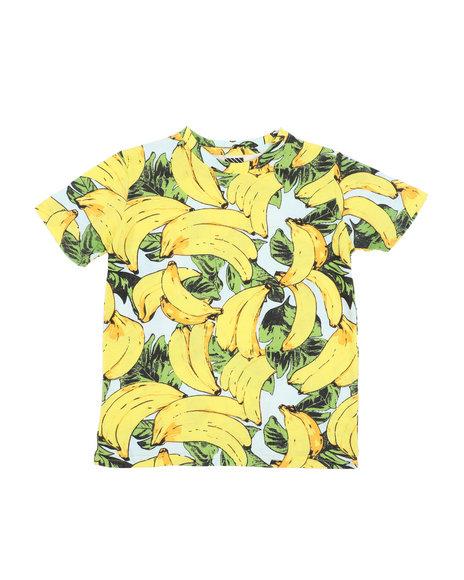 Arcade Styles - Banana Knit Tee (8-18)