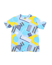 Arcade Styles - Geometrics Knit Tee (8-18)-2457666