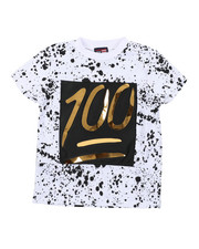 Sizes 4-7x - Kids - 100 Mirror Foil Patch Tee (4-7)-2457851