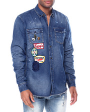 Men - feared ls woven shirt-2458945