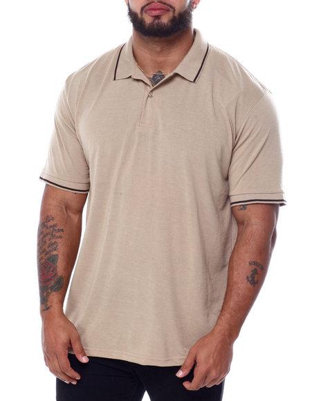 Buyers Picks - Tip Collar S/S Knit Top (B&T)