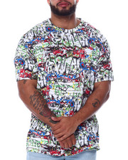 Big & Tall - Graffiti S/S Knit (B&T)-2456481