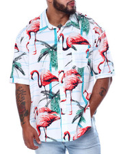 Button-downs - Flamingo S/S Woven (B&T)-2456471