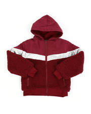 Light Jackets - Sherpa Jacket (8-20)-2451854