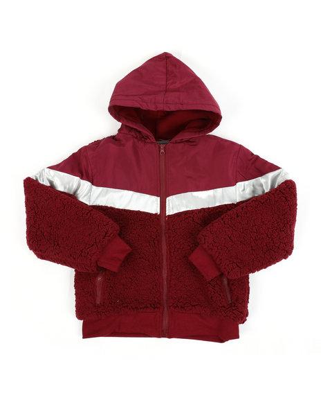 Arcade Styles - Sherpa Jacket (8-20)