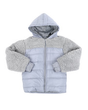 Light Jackets - Sherpa Jacket (8-20)-2451859