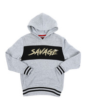 Hoodies - Savage Fleece Pullover W/ Embossed Foil (8-18)-2457770