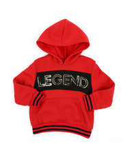 Sizes 4-7x - Kids - Legend Fleece Pullover W/ Embossed Foil (4-7)-2457775