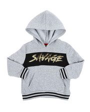 Hoodies - Savage Fleece Pullover W/ Embossed Foil (4-7)-2457764