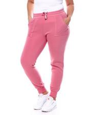 Plus Size - Porkchop Pocket Fleece Jogger (Plus)-2458950