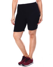 DEREK HEART - Brushed Jersey High Rise Bike Short-2449693