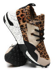 Footwear - Mixed Media Sneakers-2459008