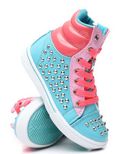 Girls - Studded Color Block Sneakers (5-10)-2458742