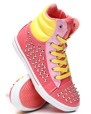 La Galleria - Studded Color Block Sneakers (11-4)-2458571