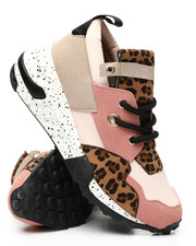 Fashion Lab - Mixed Media Sneakers-2459040
