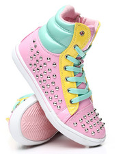 La Galleria - Studded Color Block Sneakers (11-4)-2458603