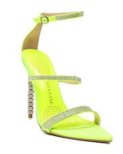 Footwear - Neon Rhinestone Heels-2458711