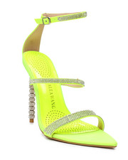 Azalea Wang - Neon Rhinestone Heels-2458711