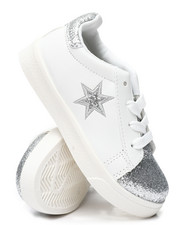 Girls - Metallic Star Sneakers (5-10)-2458729