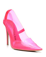 Footwear - PVC Pointy Heels-2458632