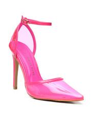 Women - PVC Pointy Heels-2458658