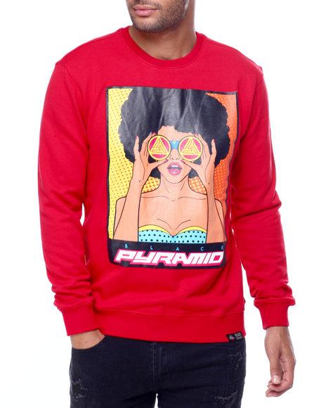 Black Pyramid - Look out Girl Crewneck Sweatshirt