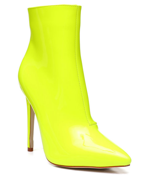 Azalea Wang - Neon Ankle Booties