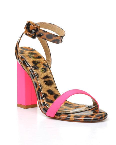 Azalea Wang - Leopard Patent Heels