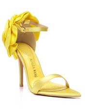 Azalea Wang - Rose Petal Strappy Heels-2458615