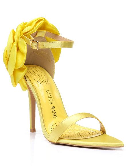 Azalea Wang - Rose Petal Strappy Heels