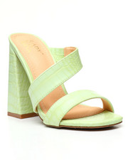 Women - Strappy Croc Mules-2458916