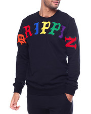 Hudson NYC - OLDE ENGLISH Drippin ARCH CREWNECK-2459258