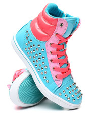 La Galleria - Studded Color Block Sneakers (11-4)-2458584