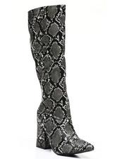 Footwear - Slip-On Knee Length Boots-2459392