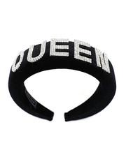Fashion Lab - Queen Word Head Band-2459421