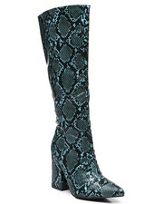 Fashion Lab - Slip-On Knee Length Boots-2459382