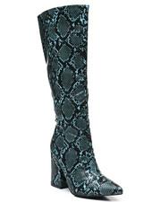 Footwear - Slip-On Knee Length Boots-2459382