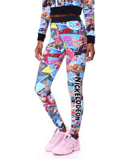 Freeze Max - I Love The 90s Abstract Leggings-2456476