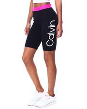 Calvin Klein - Logo Jacquard Elastic Waistband High Waist Bike Short-2456065