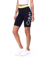 Calvin Klein - Logo Jacquard Elastic Waistband High Waist Bike Short-2456070