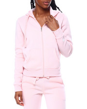Spring-Summer-W - Fleece Full Zip Hoodie-2457983
