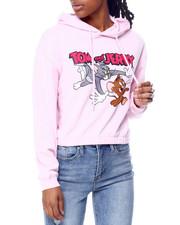 Graphix Gallery - Tom & Jerry Elastic Hem Skimmer Hoodie-2459822