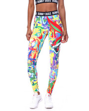 Freeze Max - Bugs Abstract Leggings-2459106